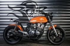 ϟ Hell Kustom ϟ: Honda CB750 By Boor Custom