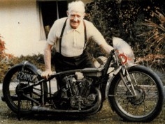 Herbert James Munro ('Burt') the world fastest Indian legend. He was a New Zealand motorcycle racer, famous for setting an under-1,000 cc world record, at Bonneville, 26 August 1967. This record still stands today. Munro was 68 and was riding a 47-year-old machine when he set his last record.
