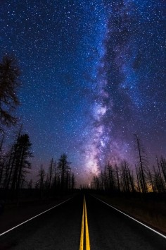 ~~Highway to Heaven | Milky Way, on the road to Bryce National Park, Utah | by Wayne Pinkston~~