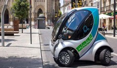 hiriko citycar,hiriko folding ev,hiriko project,green transportation,electric car, hiriko fold, electric car, green car, city car,eco-friendly city transportation