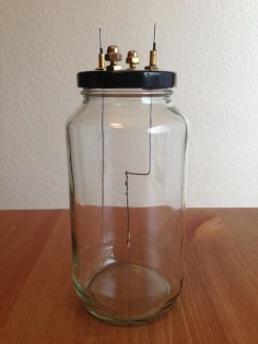 Homemade Lightbulb and the directions on how to make one.