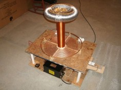 Homemade Tesla Coil