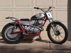 Honda 305 Scrambler Trials