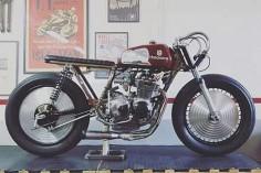 Honda '76 CB350F by Apache Custom Motorcycles