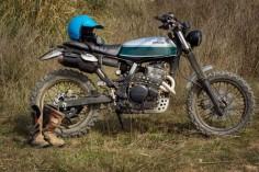 Honda '91 Dominator  by OSB Soul Bikes