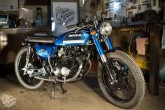 Honda cb 125 K5 vintage bike