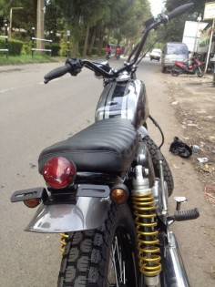 honda cb 125 modified japstyle