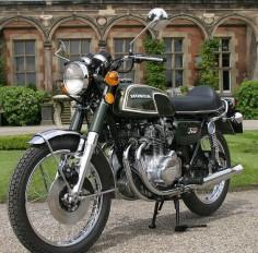 Honda CB 350 Four.
