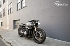 Honda CB Cafe Racer #motorcycles #caferacer #motos |