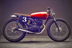 HONDA CB125 'SUPER SPORT' - LOW BUDGET CUSTOMS - 8NEGRO