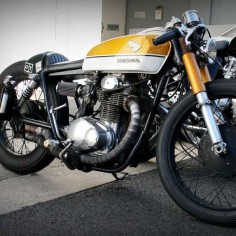 Honda cb350 cafe racer