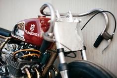 Honda CB350F – Apache Custom Motorcycles