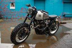 "Honda CB450 1972 Scrambler ""Little Badger"" by Brother moto #motorcycles #scrambler #motos |"