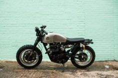 "Honda CB450 1972 Scrambler ""Little Badger"" by Brother moto#motorcycles #scrambler #motos 