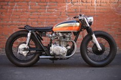 "Honda Cb450 ""Brat""  Hubby thinks I need a motorcycle, I would totally love this one!"