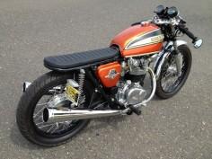 Honda CB450 Custom Vintage Motorcycle