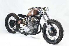 Honda CB450 – Steel Bent Customs  