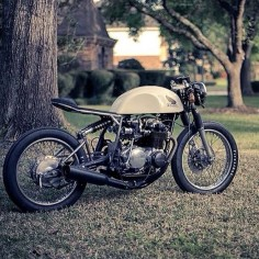 Honda CB500 by Kinetic Motorcycles