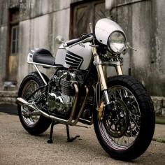 Honda CB550 by Meyerbuilt Metalworks