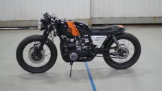 Honda CB550 Cafe Racer by Halifax speed co #motorcycles #caferacer #motos |