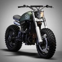 Honda Cb550 Scrambler by Ziggy Motorcycles.