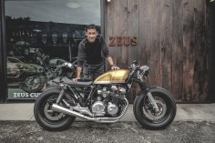 Honda CB650 Cafe Racer by Zeus Custom #motorcycles #caferacer #motos |