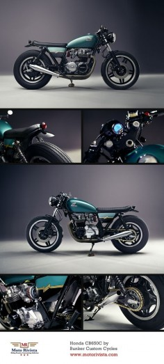 #Honda CB650C by Bunker Custom Cycles ~ featured on Moto Rivista