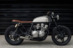 Honda CB750 Brat Style by Redeemed Cycles #motorcycles #bratstyle #motos |