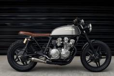 Honda CB750 Brat Style by Redeemed Cycles #motorcycles #bratstyle #motos |