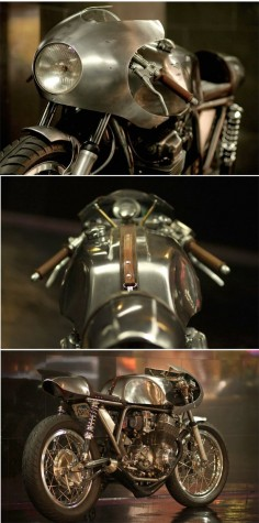HONDA CB750 BY RACCIA MOTORCYCLES