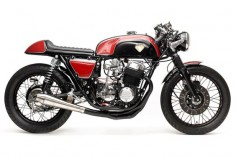 honda cb750 cafe racer CB750 Cafe Racer by Dime City Cycles #caferacer #cb750
