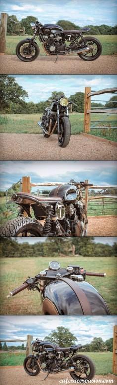 Honda CB750 Cafe Racer E Bolex mk4 #motorcycles #caferacer #motos |