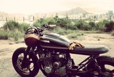 Honda CB750 side Fotor 740x503 Honda CB750 by Wesley Hannam