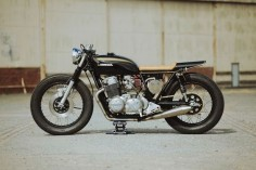 Honda CB750K Cafe Racer by Glory Road Motorcycles #motorcycles #caferacer #motos |