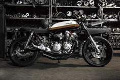 Honda CB900 Cafe Racer by Bullitt Garage #motorcycles #caferacer #motos |