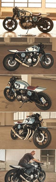 Honda cb900f bol dor cafe racer by Andrea Goldemann #motorcycles #caferacer #motos |