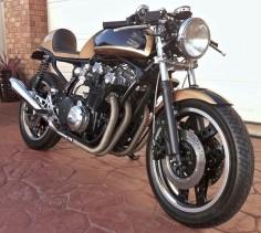 Honda CB900F Bol d'Or cafe racer