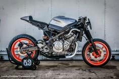 honda cbr cafe racer | Honda CBR 600 F 1993 Cafe Racer by Katherine Knight