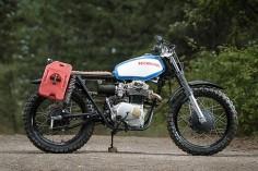 Honda CL350 Scrambler – No 8 Wire Motorcycles - Photos by Athena Photography #motorcycles #scrambler #motos |