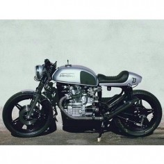 Honda CX500 Cafe Racer Build from @blackbeanmotorcycles in Munich #motorcycles #caferacer #motos |
