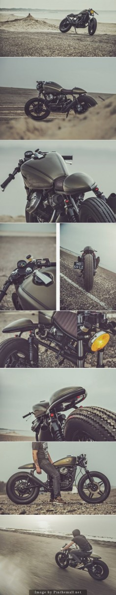 Honda CX500 Cafe Racer by Nozem Caferacer #caferacer #motos #motorcycles |
