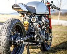Honda CX500 GTS - Cafe Racer project by Sacha Lakic Design 2014 ©SachaLakic #SachaLakic #Honda #CafeRacer #Custom