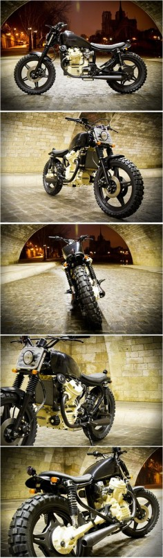 HONDA CX500 STREET-TRACKER by RIVE-GAUCHE-KUSTOMS, Paris