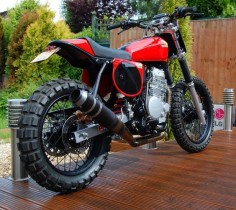 Honda Dominator custom