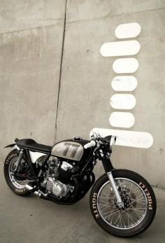 Honda - found on Cafe Racer Culture