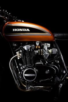 Honda Four Brat Style #motorcycles #caferacer #motos |