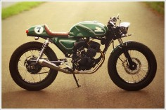 Honda GL200 Café Racer - 'Dolores' - Pipeburn - Purveyors of Classic Motorcycles, Cafe Racers & Custom motorbikes