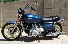 Honda Gold Wing GL1000 with 51 miles