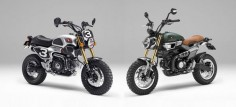 Honda Grom Scramblers Are The Retro Micro Motorcycles Of Your Dreams