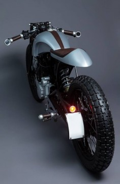 Honda Hero Karizma Cafe Racer - The beauty of simple lines!